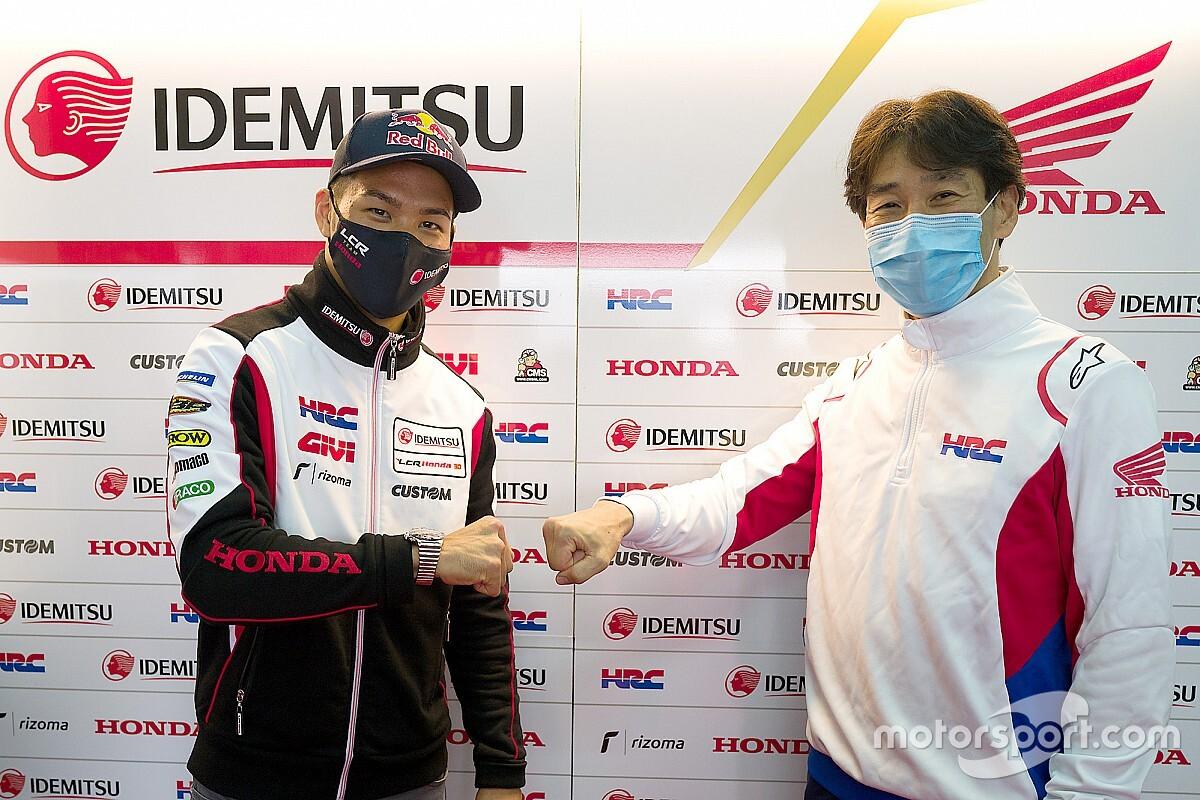 Nakagami, 2021'de en son versiyon Honda motosikletiyle yarışacak