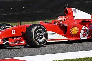 El show de Mick Schumacher con el F2004 de su padre en Mugello