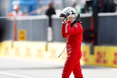 """Vettel amaro con Leclerc: """"Ottimo giro, ma non mi ha dato la scia"""""""