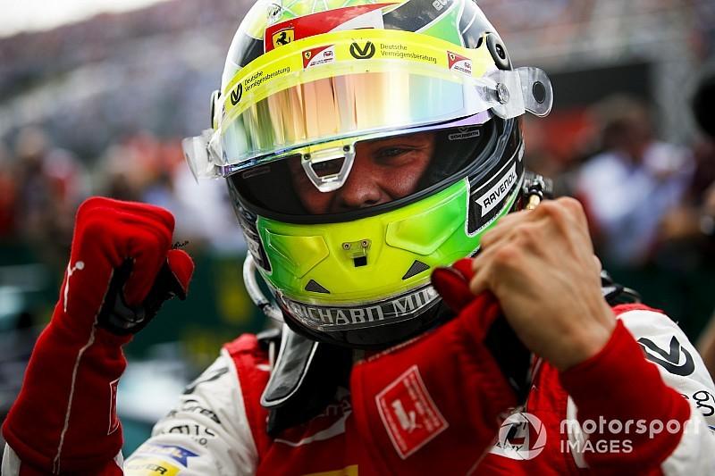 Történelmi pillanat: Mick Schumacher F2-es versenyt nyert a Hungaroringen