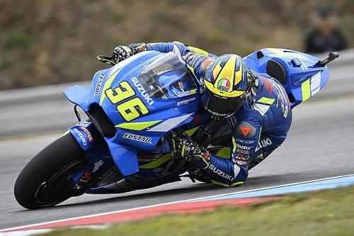 Mir torna in sella alla Suzuki nei test di Misano della MotoGP