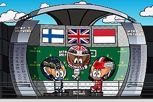 Video: El GP de británico 2019 de F1, por MiniDrivers