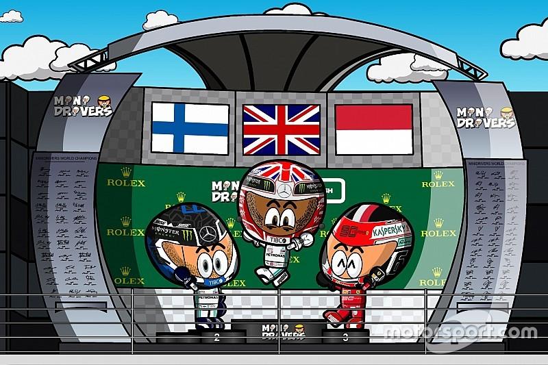 Vídeo: el espectacular GP de Gran Bretaña 2019 de F1, por MiniDrivers
