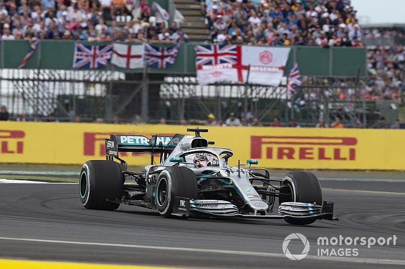Mercedes poprawił chłodzenie W10