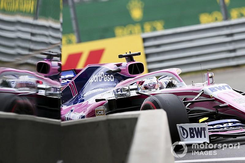 Perez, Silverstone'a eklenen çakıl alanları beğendi