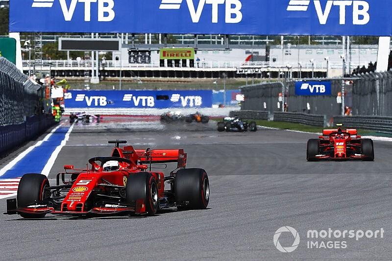 """Vettel a Leclerc: """"Estaba todo hablado, quizás me perdí algo"""""""