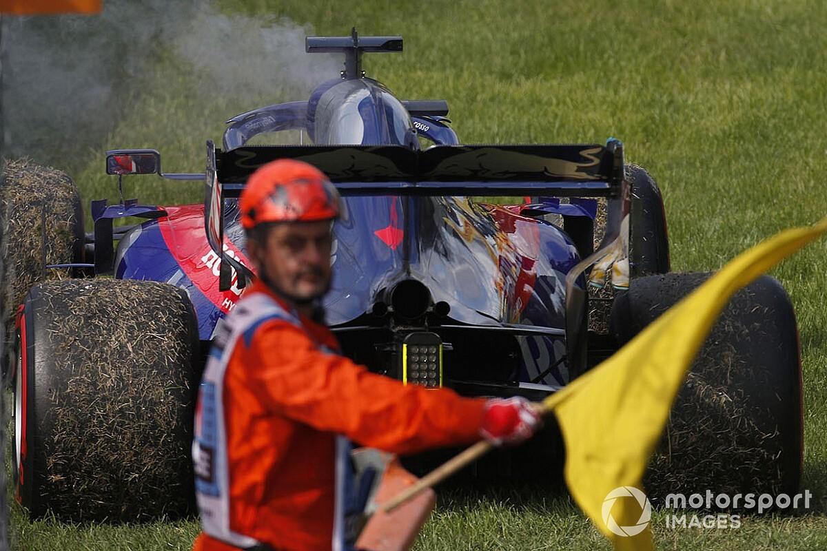 Preocupación en la F1: ¿aumentarán las 'tarjetas amarillas' el peligro?