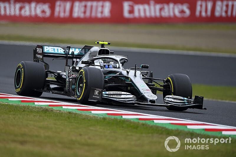 日本大奖赛FP1:博塔斯领先汉密尔顿0.07秒居首