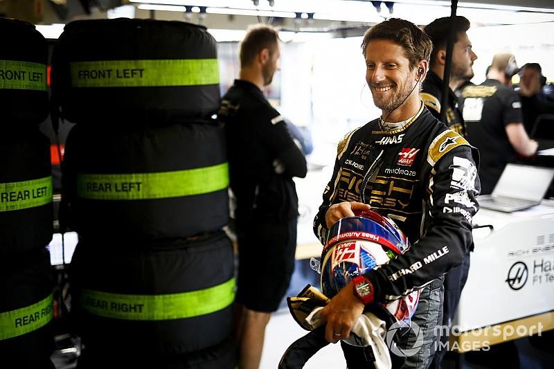 A Haas kínjában nevetett Grosjean legbizarrabb balesetén - videó