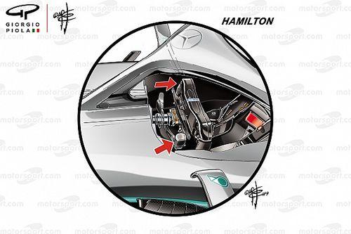 El diferente camino de Hamilton y Bottas para las salidas