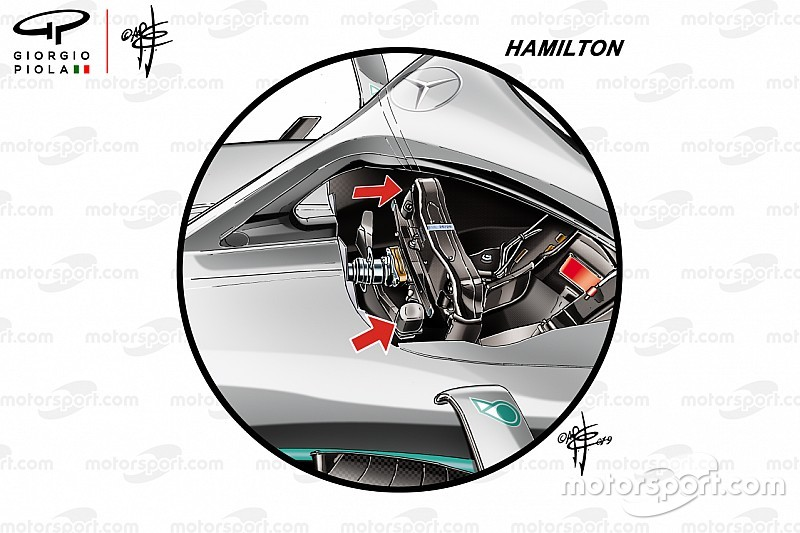 How Mercedes drivers have gone different ways on start systems