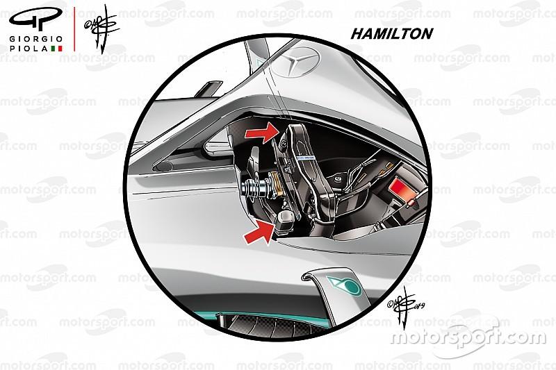 Hamilton et Bottas, des configurations différentes pour le départ