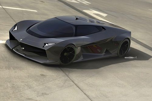 Esta visualización de un Lamborghini del futuro se ve brutalmente bien