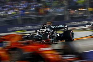 Stand in het wereldkampioenschap Formule 1 na de GP van Singapore
