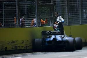 Russell frustrado porque Grosjean no aceptó su culpa en accidente