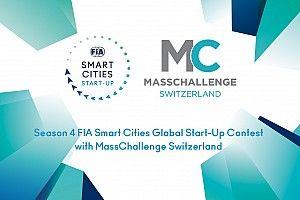 FIA e MassChallenge Switzerland aprono le iscrizioni per la stagione 4 del concorso globale di start-up di FIA Smart Cities