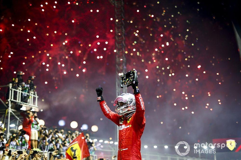 """Vettel: """"Ganar aquí fue una sorpresa para nosotros"""""""