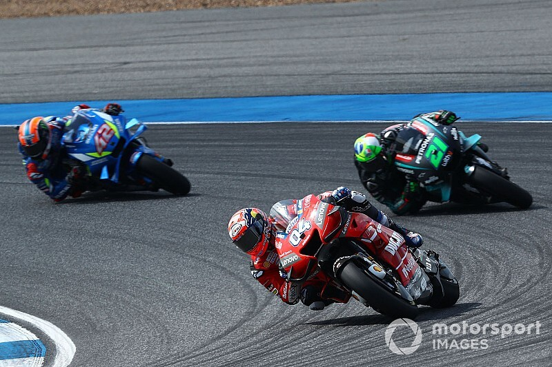 "Dovizioso: Tyre management MotoGP races ""almost gone"""