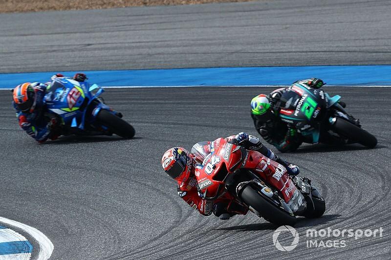 """Dovizioso: """"Bandenmanagement bestaat niet meer in MotoGP"""""""