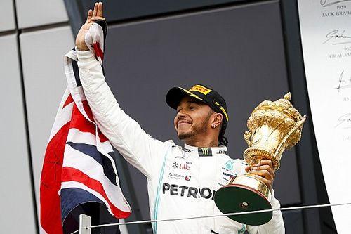 """Hamilton weet het zeker: """"Had ook zonder safety car gewonnen"""""""
