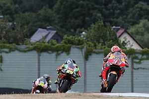 Sachsenring MotoGP: Marquez tops damp warm-up