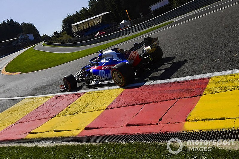 Только Квят использовал в гонке новый мотор Honda