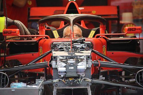 Formel-1-Technik: Detailfotos beim GP Belgien