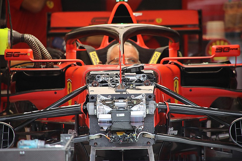 Ferrari: si lavora anche sul terzo elemento della sospensione