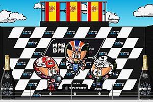Vídeo: el GP de Gran Bretaña 2019 de MotoGP, según MiniBikers