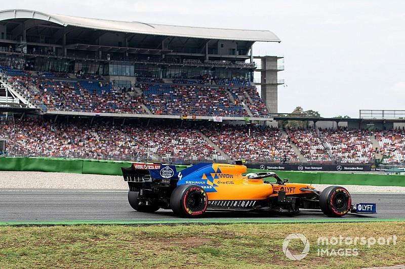 Norris recebe punição no grid da Alemanha por problema na bateria