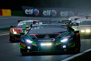 24h di Spa: Lamborghini vince in Silver Cup e va a podio in AM Cup