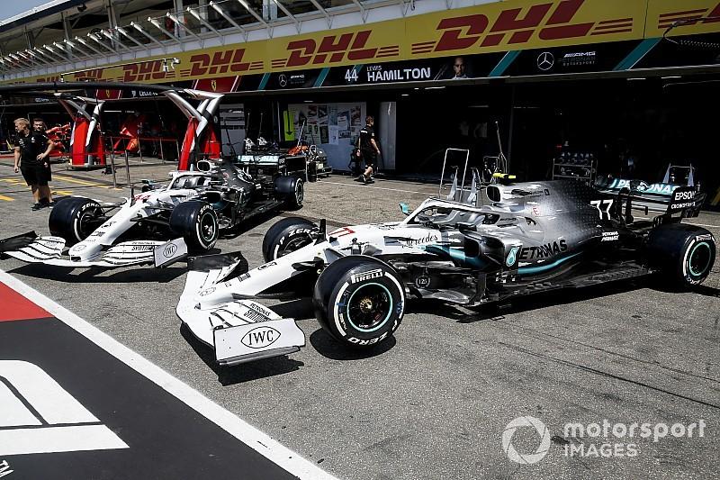F1: ecco la livrea celebrativa Mercedes per il GP di Germania