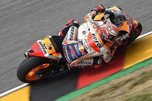 Marquez gaf zichzelf toestemming te genieten tijdens GP Duitsland