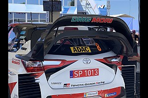 Toyota adjusts rear wing after FIA rules clarification
