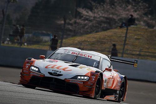 【スーパーGT】富士公式テスト初日、36号車スープラがトップタイム。GT300は56号車GT-R首位