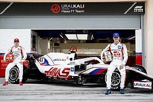 Haas presentó oficialmente su coche VF-21 F1 en Bahrein