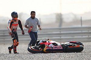 """Pol Espargaró: """"Ya dije que para ir rápido había que caerse"""""""