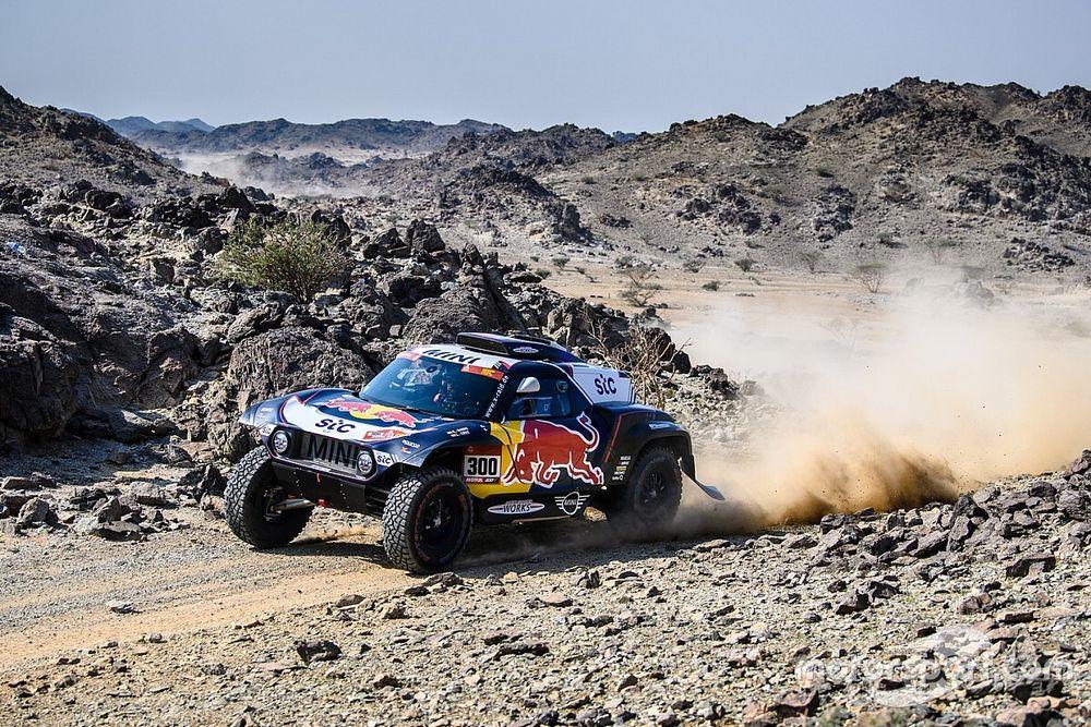 Dakar, Auto, Tappa 1: ruggito di Sainz. MINI scatenate