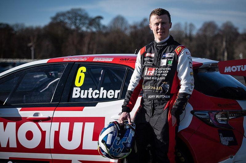Butcher confident after first Toyota BTCC test
