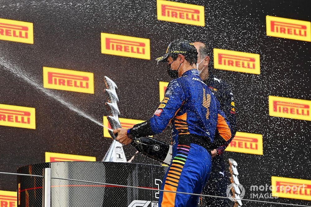 McLaren: El podio de Norris fue por mérito propio