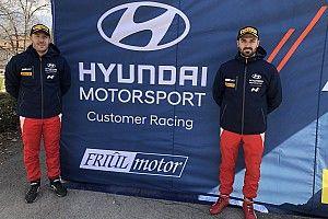Andrea Crugnola al via del CIR 2021 con Hyundai Italia