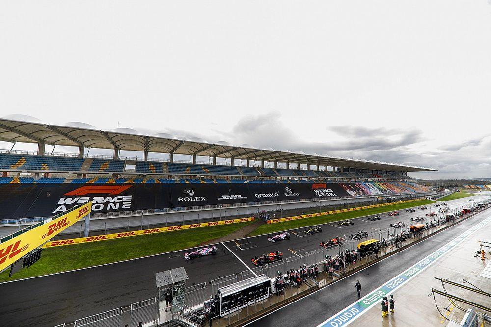 Turquía ocupa el lugar del GP de Singapur en la F1 2021