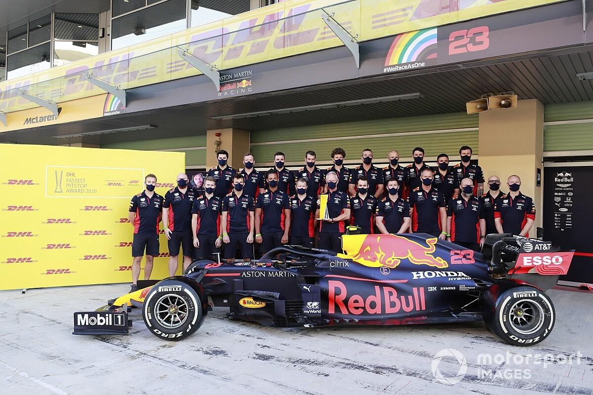 Sezonun son yarışında en hızlı pit stopu yine Red Bull yaptı