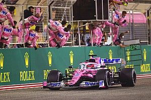 Perez says shock Sakhir GP victory was on merit