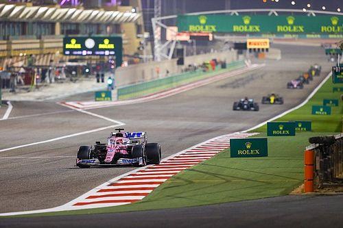 Pérez, uno de los pocos pilotos con vueltas lideradas en la F1 2020
