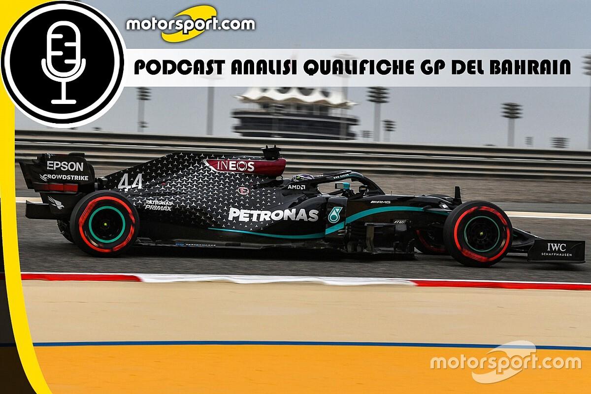 Podcast: analisi delle qualifiche GP del Bahrain di F1