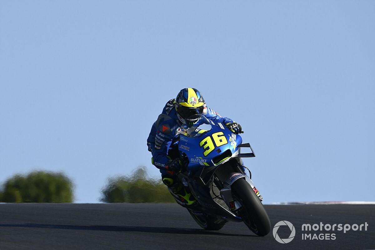 """Suzuki felt no added pressure by """"perfect"""" bike label"""