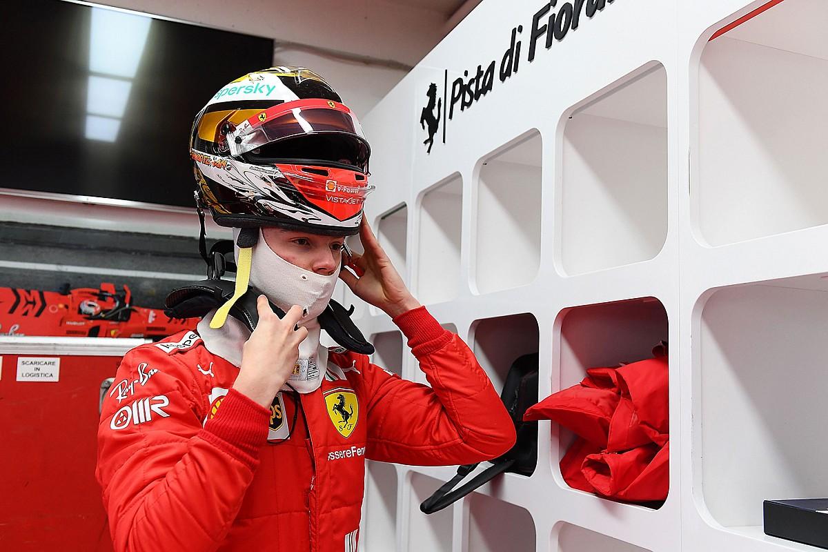 Галерея: Шварцман на тестах Ferrari