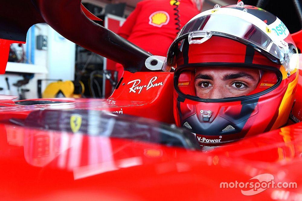 Egy szponzor is követhette Sainzot a Ferrarihoz