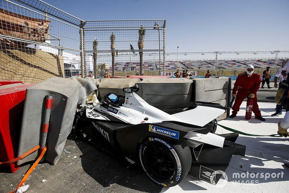 Mercedes revela la causa del brutal accidente de Mortara